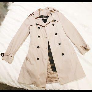 Zara beige trench coat